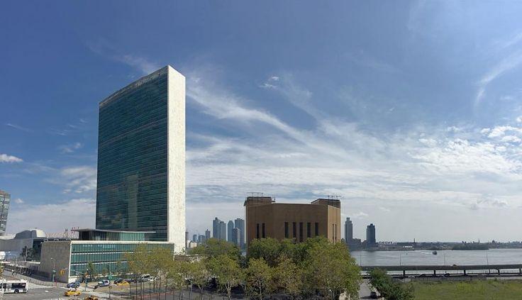Hoofdkantoor van de Verenigde Naties. #NYC
