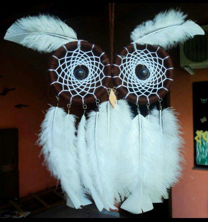 Owl dream catcher