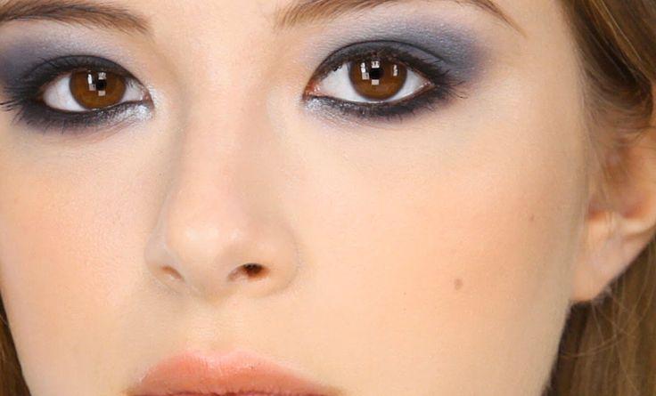 Navy Smokey Eye Makeup Tutorial…maybe New Year's Eve?