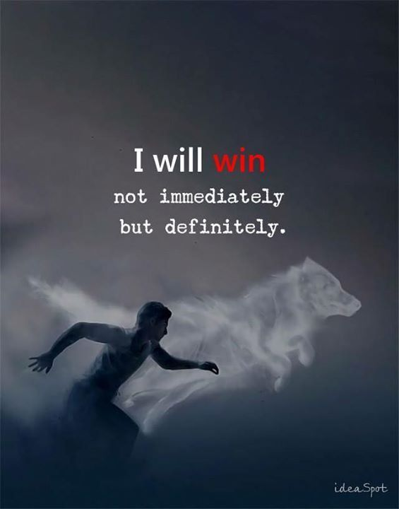 I Will Win My Thoughts Pinterest Quotes Positive Quotes And Interesting Quotes Positive