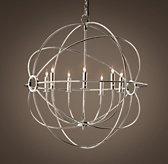 restorationhardware.com - foucault's orb chandelier polished nickel