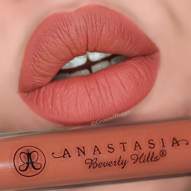 second lip swatch of the day ashton by anastasiabeverlyhills lip swatch pinterest. Black Bedroom Furniture Sets. Home Design Ideas