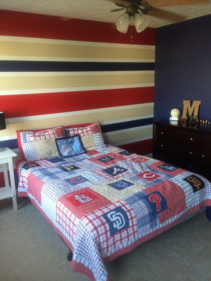 Stripes were requested Behr paint colors vintage velvet