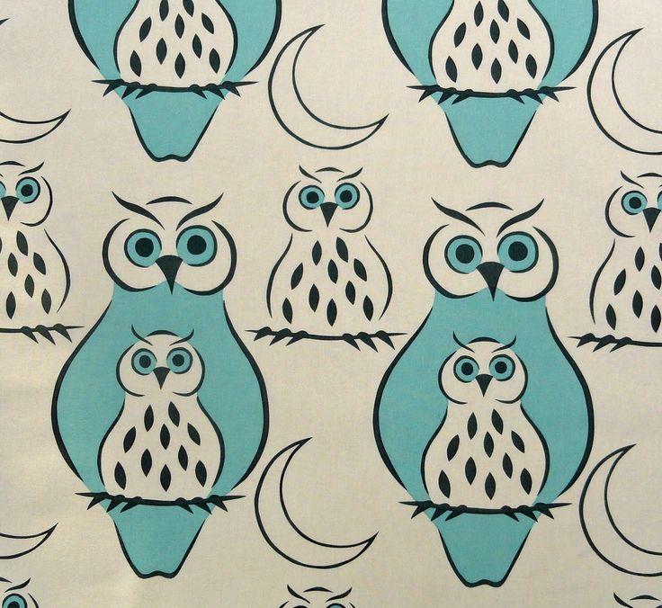 Ann Granlund textiltryck: Olika mönster