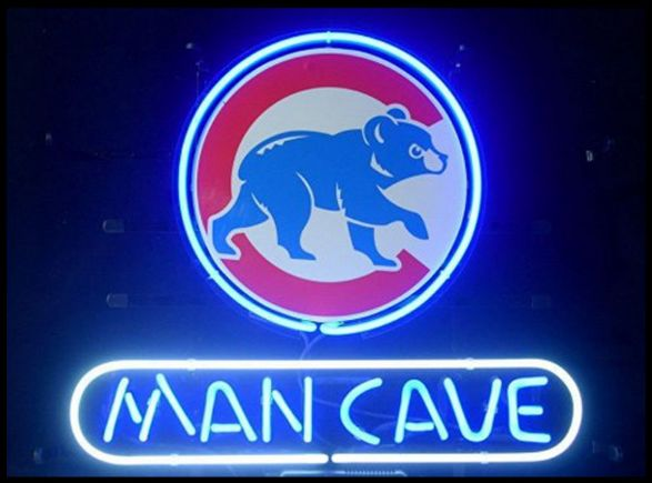 Order today Email Bill bvbizmarketing@gmail.com to order GREAT GIFT!!!  Neon Sign Hand Made CHICAGO CUBS MAN CAVE - FREE SHIPPING ZERO TAX!  Email Bill bvbizmarketing@gmail.com to order