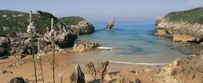 paisaje protegido de la costa oriental asturiana en españa