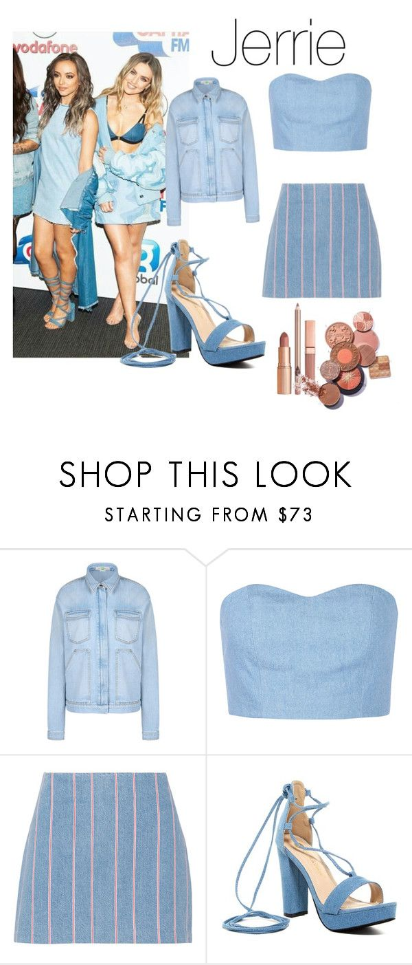 """""""Perrie Edwards Jade Thirlwal"""" by maribou ❤ liked on Polyvore featuring STELLA McCARTNEY, Julien David, T By Alexander Wang, Chase & Chloe and Dolce Vita"""