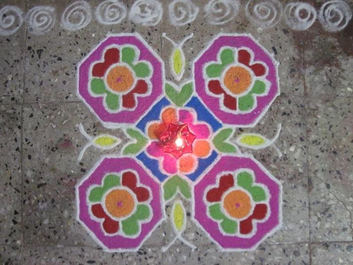 Entry by Jagruti Jadhav(1) #Diwali #Rangoli