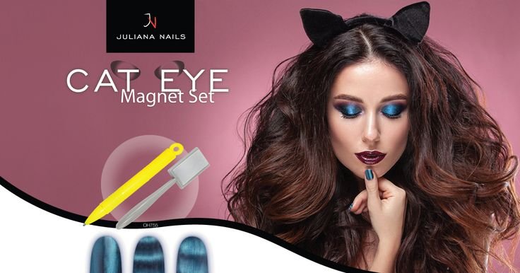 Ab sofort in allen Juliana Nails Stores erhältlich - Cat Eye Magnet Set Schnell sein, in einem unserer Juliana Nails Stores vorbei schauen und wunderbare Nailart Kreationen auf eure Nägel zaubern :-) https://juliana-nails.at/shop/product/cat-eye-magnet-set-7795