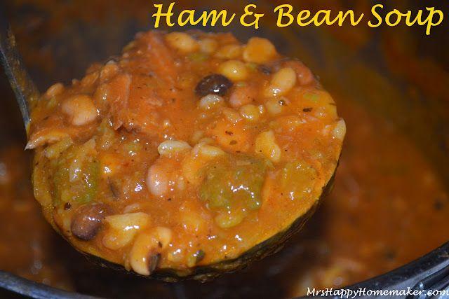 Ham & Bean Soup | Food | Pinterest