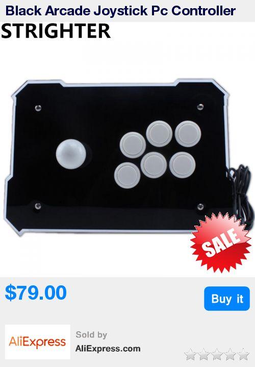 Black Arcade Joystick Pc Controller Computer Game Joystick Usb Connector New King of Fighters Joystick Consoles * Pub Date: 15:23 Aug 14 2017