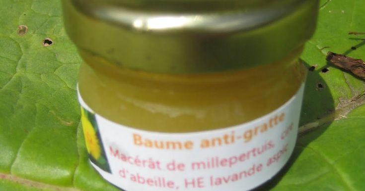 Recette n°2 de la saga de l'été ; )  Voici un remède pour les piqûres en tout genre : guêpes, moustiques, méduses, araignées... Ce baume s'u...