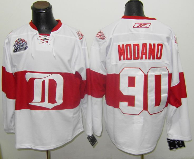 ... detroit red wings 90 mike modano winter classic jersey reebok daniel  alfredsson 93bc32d31