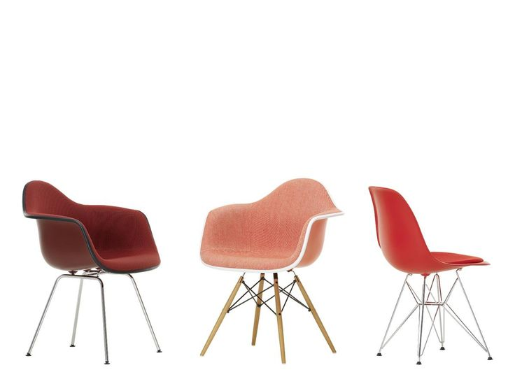 Oxide red eames chair