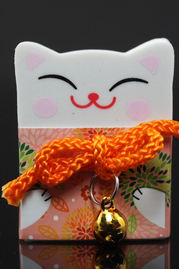 Things That Bring Good Luck good luck happy cat eraser   products, cats and good luck