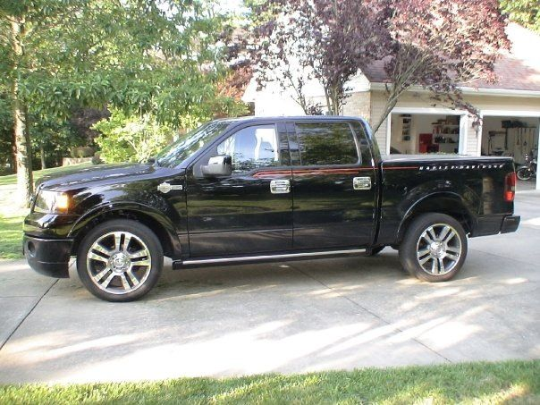 2007 Ford F-150 Harley Davidson Truck -Supercharger - Yes we have a bike too, see in back right corner, lol!