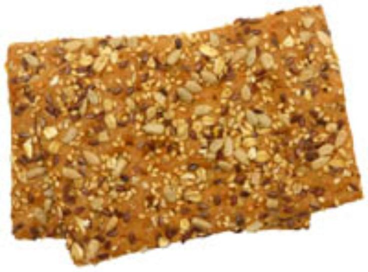Recept: puur natuur crackers, vol met zaden en pitten