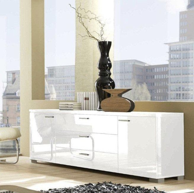 Modern Buffet Table Dining Room With Cabinet Furniture Contemporary