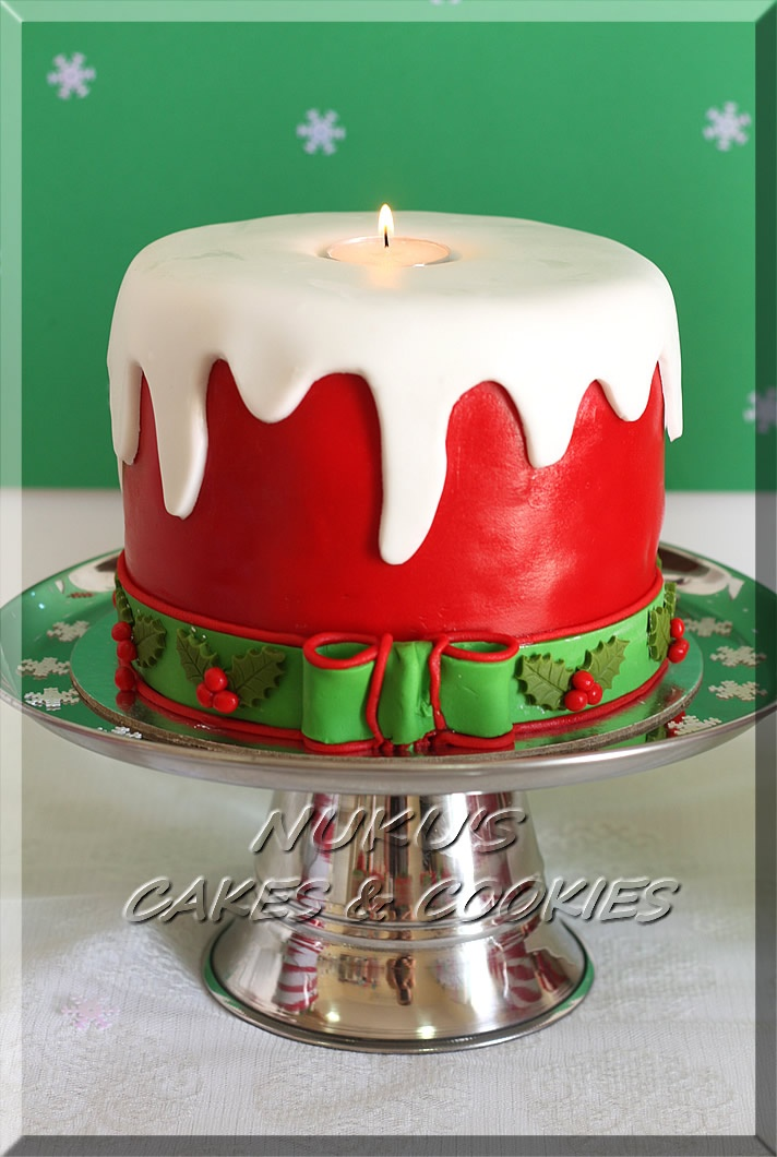 Christmas Candle Cake Images : 17+ best images about Theme cakes on Pinterest Bee cakes ...