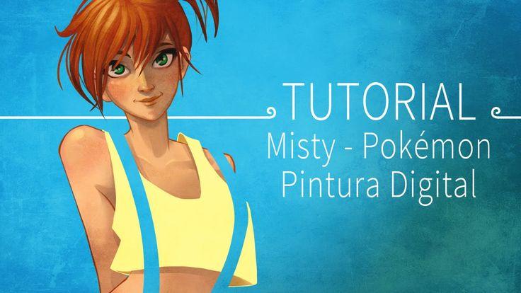 Tutorial de pintura digital - Misty Pokémon