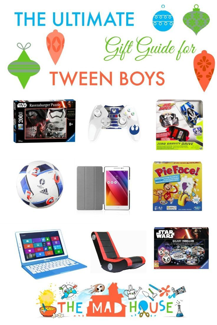 The ultimate gift guide for tween boys. Great gifts for boys aged 8 to 12, for tweens, by tweens