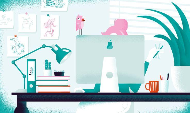 VISUELE VERRASSINGEN MET EEN VLEUGJE HUMOR Achter Studio Merel zit grafisch ontwerper en illustrator Merel de Ruijter. Zij ontwerpt voor zowel grote als kleine bedrijven, variërend van huisstijlen, logo's en brochures, tot boeken, kaarten en spellen. Kenmerkend aan haar werk is het fantasierijke en speelse karakter, afgespiegeld in unieke illustraties. Blije tapirs, touwzwaaiende hamsters en vliegende wortels zijn haar specialiteit. Maar ben je accountant en wil je een nieuwe huisstijl, dan…
