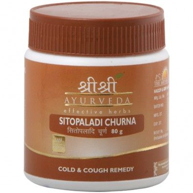 Sitopaladi Churna is useful in cough associated with various other respiratory problems. It is one of the best and widely used Ayurvedic medicines for cough, even for kids. It helps to increases the appetite, digestion, and provides strength to the body. It is recommended for seasonal coughs and colds, as it is a very good expectorant. It is excellent soothing aid in both dry and productive cough.