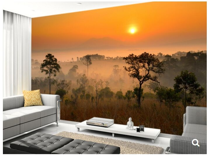 30.00$  Watch now - http://aliw19.shopchina.info/go.php?t=32695469911 - Custom landscape wallpaper, Forest Canopy,3D nature wallpaper for living room sofa backdrop papel de parede 30.00$ #bestbuy