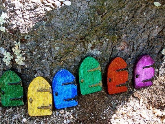 Fairy DoorDoors Fairies, Fairies Doors, Doors Kits, Fairies Gardens, Fairies House, Doors Preorder, Stones Cast, Turn Doors, Fairy Doors