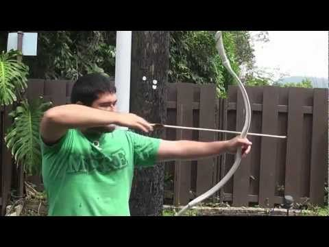 PVC Archery Release primitive compound style