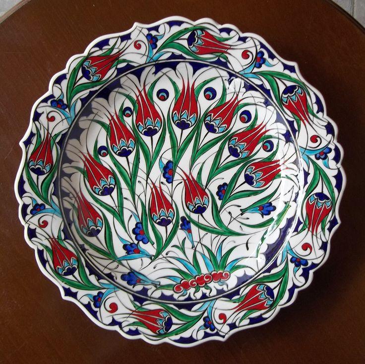 ceramic plate  kütahya