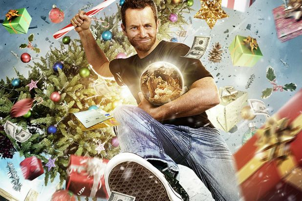 """""""Kirk Cameron's Saving Christmas"""" was the biggest winner at Saturday night's Golden Raspberry Awards, if you can call it """"winning"""" to be named the worst film achievement of the year in four different categories."""