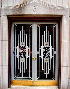 David Cobb Craig: Art Deco Doors in N.Y.C. Great blog with wonderful examples of Art Deco doors