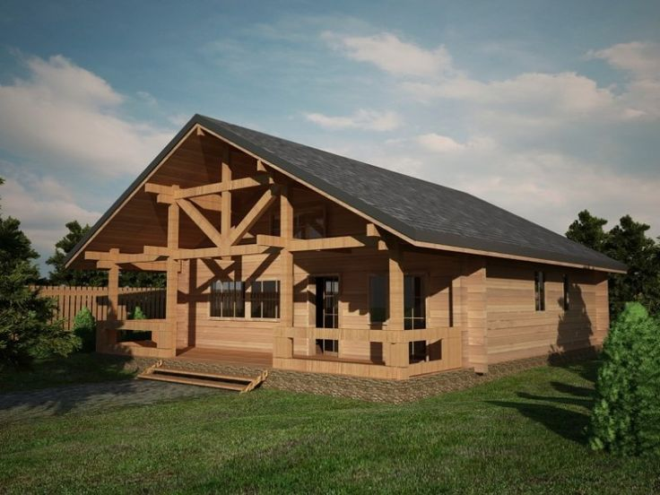 Houtskeletbouw Chalet Arad | Houten huis bouwen #timber #housesforsale #timberhouses