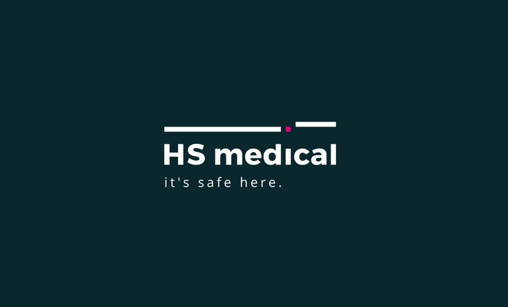 HS Medical logo - black