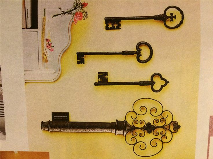 Украшения на стену. Ключи