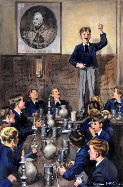 Tom Brown's Schooldays - Tom performing the old west-country song