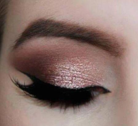 Rose Gold Smokey Eye!