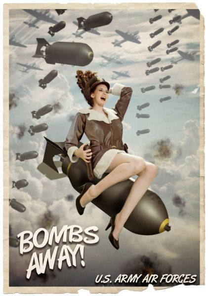 """This is great! """"Bombs Away"""" by Paul Kashuk Jr."""