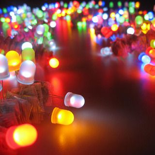 LED Throwies   so cool- watch the video- need magnet board- then just throw at the board or any magnetic surface to create a design