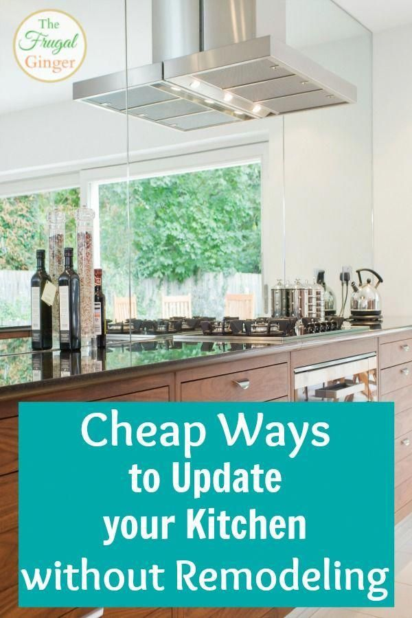 Use these inexpensive tips to get a beautiful kitchen remodel on a
