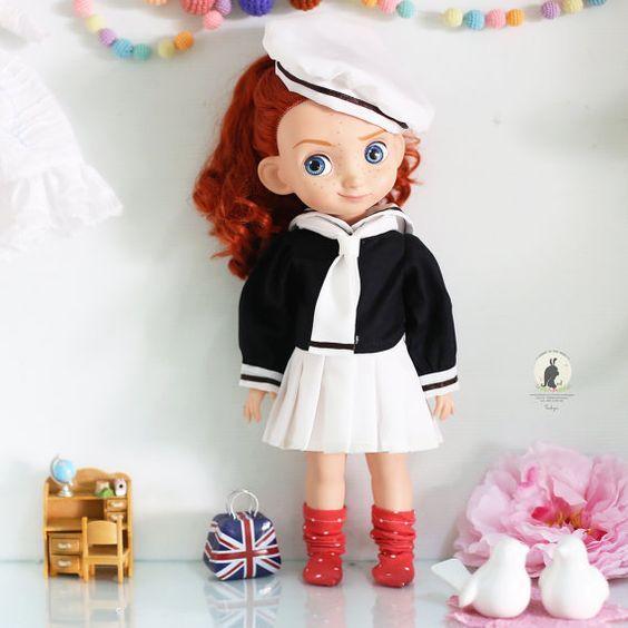 Mejores 56 imágenes de Merida Doll en Pinterest | Ropa de la muñeca ...