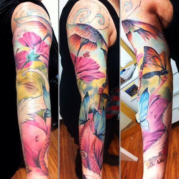 55 Amazing Hummingbird Tattoo Designs | Hummingbird tattoo ...