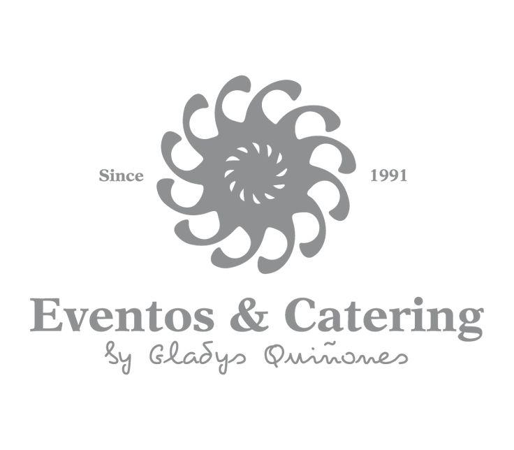 Rediseño de logotipo para eventos & Catering   República Dominicana