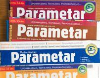 Potrošački PARAMETAR / Consumer PARAMETAR magazine by Fedja Papric, via Behance