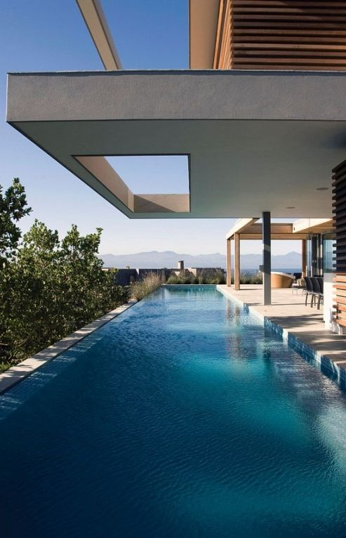 The Oceanside Positioned along a beachfront site along south africa's  plettenberg bay, is 'plett 6541 + 2 ' a six bedroom residence by cape  town-based ...