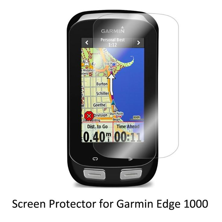 3* Clear LCD PET Film Anti-Scratch Screen Protector Cover for Cycling Training GPS Garmin Edge 1000 Edge1000 #Affiliate