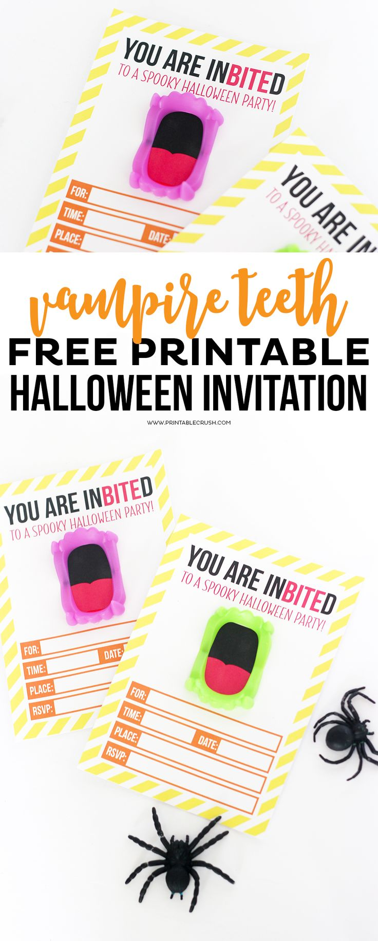free printable vampire teeth halloween invitation halloween party ideas