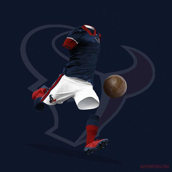Así lucirían los uniformes de NFL si fueran de futbol - RÉCORD