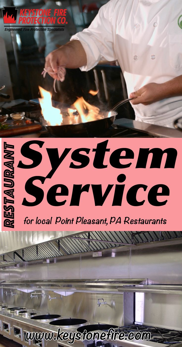 Restaurant Fire Suppression System Service Point Pleasant, PA (215) 641-0100 Local Pennsylvania Restaurants Discover the Complete Fire Protection Source.  We're Keystone Fire Protection.. Call us today!